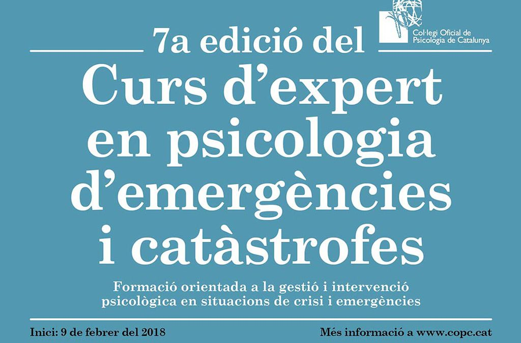Funecat participates in a course in emergency psychology