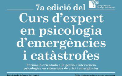Funecat participa en un curso en psicología de emergencias